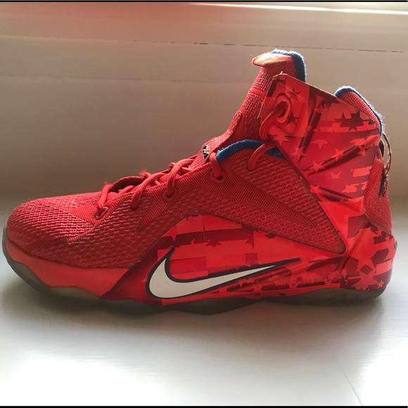 0995dfac9e8fa Nike Shoes | Lebron James Boys Sneakers Size 6 | Poshmark